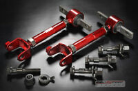 RED RSX DC5 ALL CIVIC SI EP3 K20 FRONT BOLT REAR ADJUSTABLE ARM