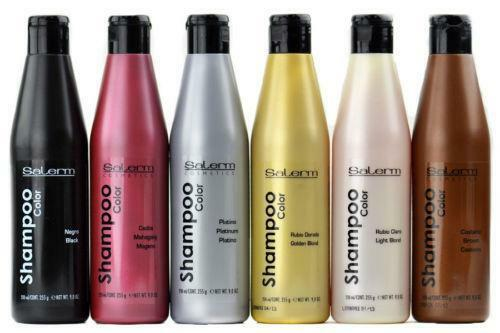 Shampoo in hair color