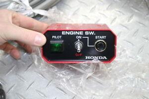 New ALL YEAR HONDA EM6000GP REMOTE CONTROL W/ ENGINE SW,warr