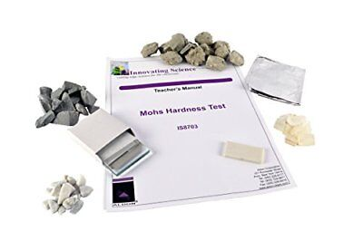 Innovating Science Earth Science Mohs Hardness Kit Materials For 15 Groups Of