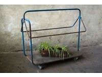 Rail Vintage Industrial Rack Metal Hanging Clothes Shop Fitting Wardrobe Vintage
