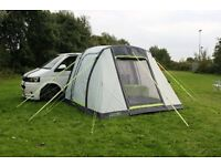 PERFECT FOR VW TRANSPORTER - Inflatable Awning - NEVER USED plus ground sheets