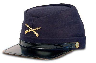 Federal Union Army Soldier Wool Hat Kepi Cap Costume Accessory Civil War Civil War Union Kepi