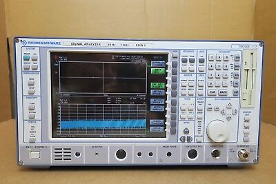 Rohde Schwarz Fsiq7 20hz-7ghz Gsmdcspcs Digital Analog Signal Analyser Rs