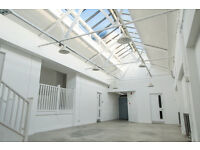PRO PHOTO-VIDEO STUDIO 3 HIRE 8 HOURS DAYLIGHT STUDIO CRE8 STUDIO HACKNEY WICK
