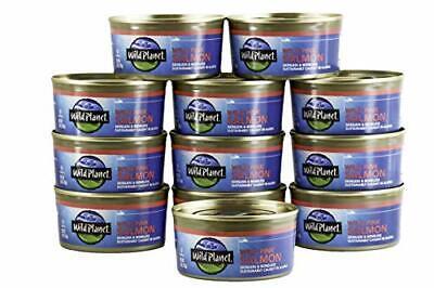 Wild Planet Wild Pink Salmon 6 Ounce Pack of 12