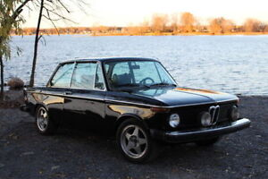 1974 BMW 2002tii 4SPD Manual Matching numbers motor