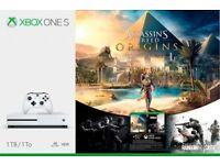 XBOX ONE S 1TB with 2 games - Brand New & Sealed