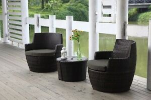LERIDA - 4 piece balcony stackable setting Varsity Lakes Gold Coast South Preview