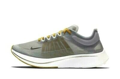 Nike Zoom Fly SP Mens Running Shoes Black Peat Moss White