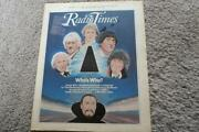 Doctor Who Radio Times