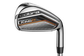Cobra Golf King F7 Irons - 5-PW, GW - Variable Length Regular Steel Shaft