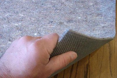 Non Skid Area Rug Pad-Multiple Sizes-Durable Reversible ...