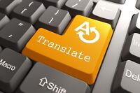 Translation Services - French and English