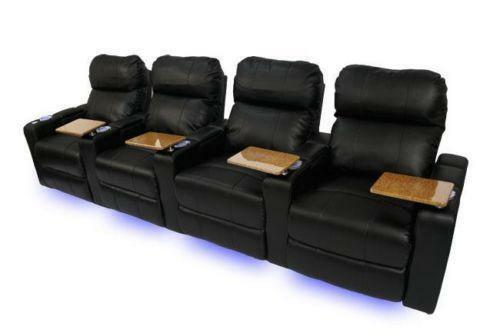 Home Theater Seating Power Ebay