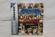 Gameboy Advance Street Fighter