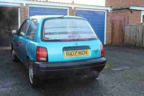 1997 NISSAN MICRA K11 1.0 PETROL MANUAL BREAKING FOR SPARES ALL PARTS WHEEL NUT