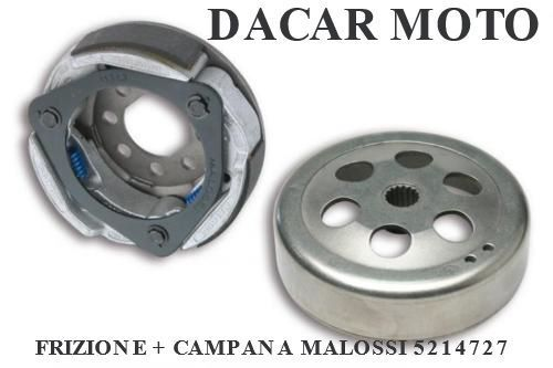 5214727 CLUTCH + BELL MALOSSI MBK THUNDER 125 4T LC