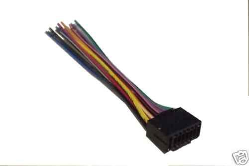Kenwood Car Stereo Wiring Harness