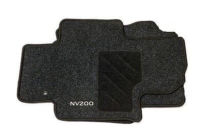Nissan NV200 Genuine Car Floor Mats Textile Tailored Front Set of 2 KE756JX031