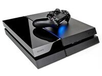 Playstation 4 PS4 2TB with 2 controllers, no games, in good condition.