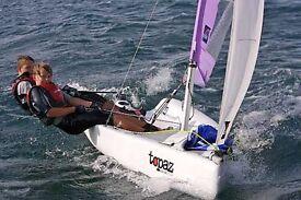 Topaz Trez sailing dinghy