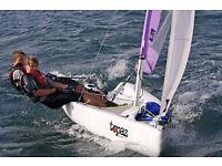 Topaz Trez sailing dingy