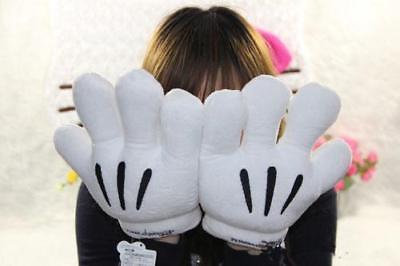 New Men/Women Disney Minnie Mickey Mouse Costume Cosplay Party Gloves - Mickey Mouse Men Costume