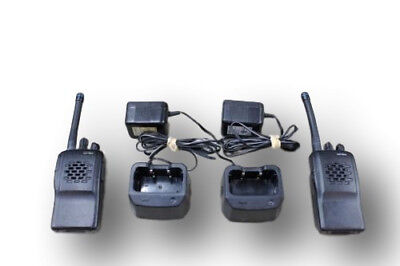 2 Vertex Vx-210 Vx210 Uhf Radios 16ch 450-480