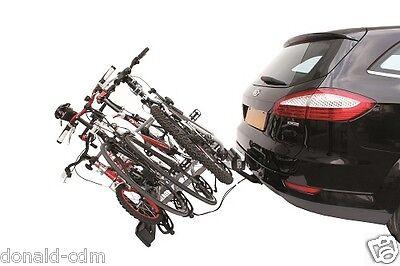 Soporte para Bicicletas De Gancho Remolque Peruzzo Parma 4 Bicicleta Basculante