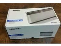 BOSE soundlink 3 Wireless III Bluetooth speakers NEW authentic with receipt