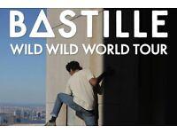 2 x general admission Bastille tickets at O2 on 1st Nov 2016