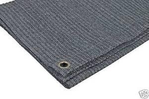 Eco Mat 2.5 x 2.5m Charcoal/Grey Breathable Caravan Awning Carpet Groundsheet