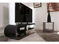 Awesome curved tv stand techline
