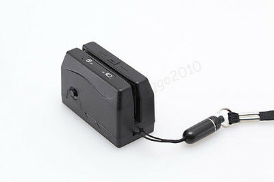 Usb Interface Portable Mini300 Magnetic Stripe Swipe Card Reader Collector Dx3