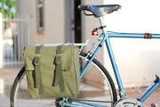 Vintage Leather Bicycle Bag