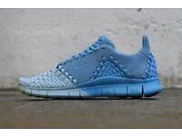 NEW Nike Free Inneva Woven II SP Uk 9 Ice Blue