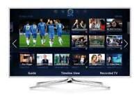"""Samsung 48"""" smart 3d wi-fi TV HD free view full HD 1080p . Screen mirror ."""