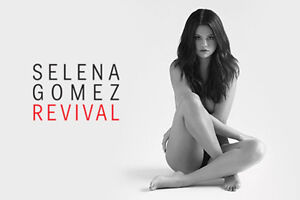Tonight!! Selena Gomez Concert E-Tickets at Centre Bell