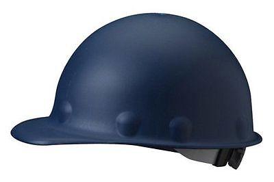 Fibre-metal Fiberglass Blue Hard Hat With 8-point Ratchet Susp. Class G