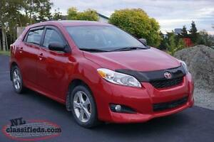 2013 Toyota Matrix Touring & convenience package Hatchback