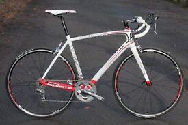 Full carbon Lapierre Sensium 100 road bike only done 12 miles (52cm frame)