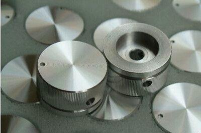 (1pcs 30mmDIAx16 SOLID Aluminum AMPLIFIER ROTARY VOLUME BASS MID KNOB SCREW SET)
