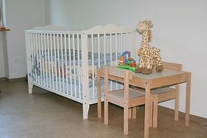Crib + future baby bed with Mattress!
