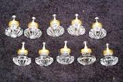 Vintage Glass Drawer Pulls