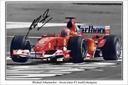 Michael Schumacher Signed