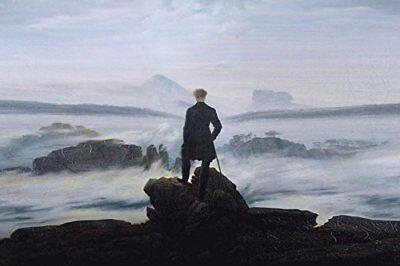 Wanderer Above the Sea of Fog 1818 by Caspar David Friedrich 36x24 Museum (Wanderer Above The Sea Of Fog Print)