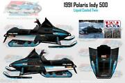 Polaris Indy Decals
