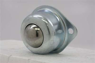 2 Holes Flange Ball Transfer Unit 1 Inch Mounted Bearings 19457
