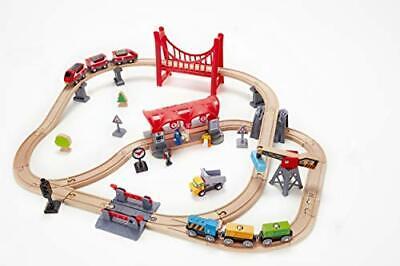 Hape Busy City Train Rail Set Toddler Kid Christmas Gift **NEW IN BOX**